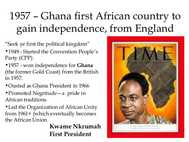 when did ghana get independence