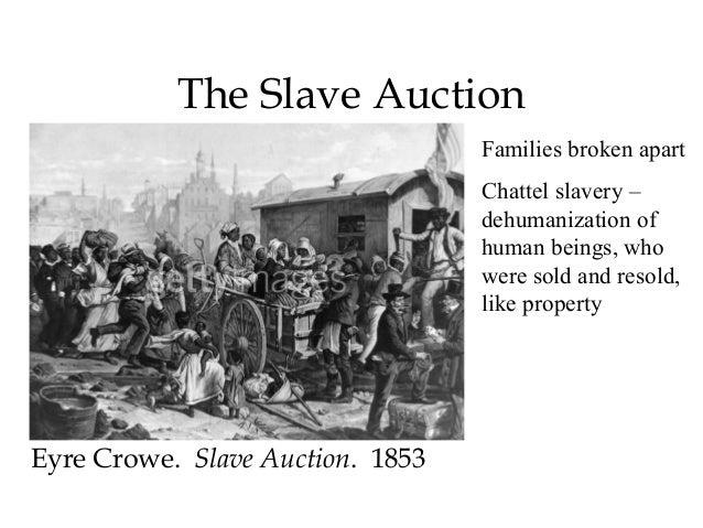 dehumanization of slaves