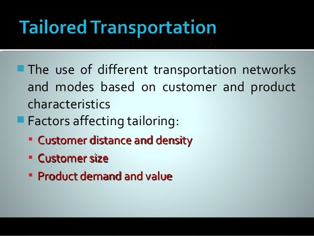 Transportation of hazardous material strategies