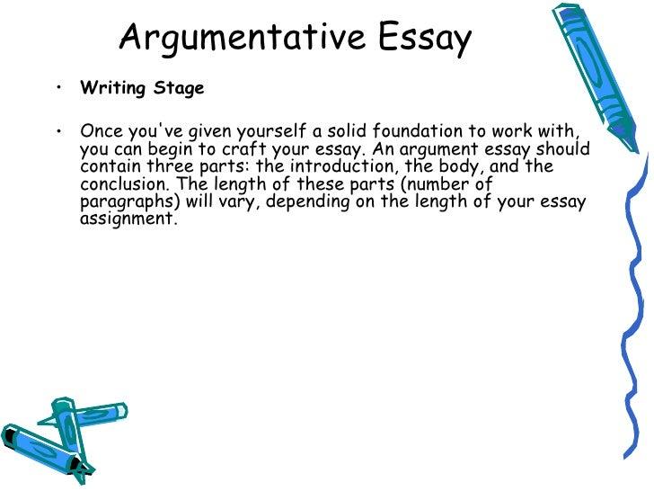 argumentative essay sample for college argumentative essay sample ...