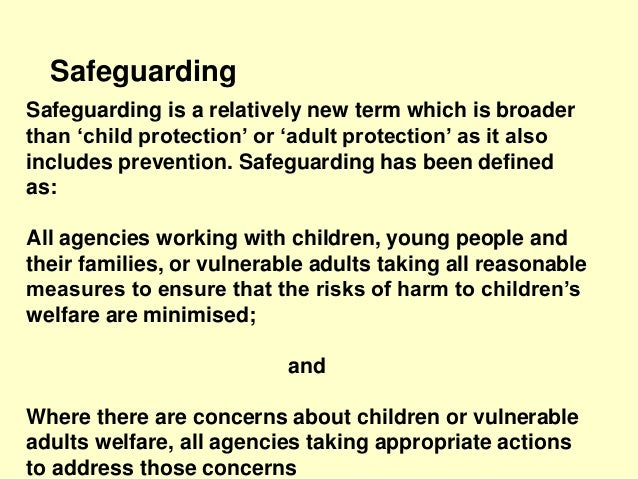 safeguarding local government and vulnerable adults