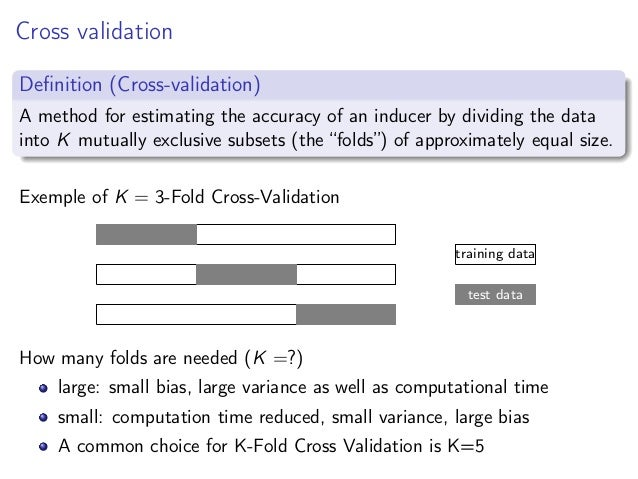 Lecture7 cross validation
