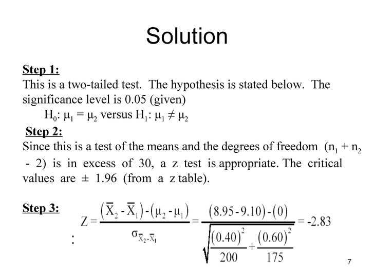 one sample hypothesis testing Chapter 7 hypothesis testing with one sample hypothesis testing in this chapter test the value of a population parameter (population mean ( ), or population proportion (p)) against some specified.