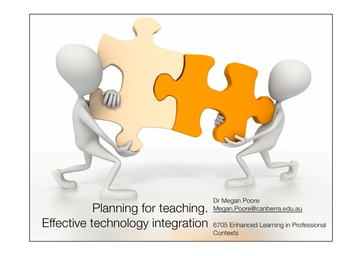 Dr Megan Poore            Planning for teaching.   Megan.Poore@canberra.edu.au  Effective technology integration    6705 E...