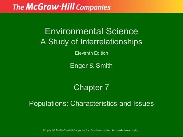 Environmental Science   A Study of Interrelationships                                  Eleventh Edition                   ...