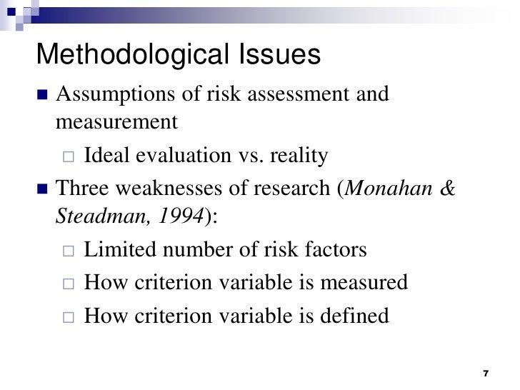 Forensic Psychology: Risk Assessment