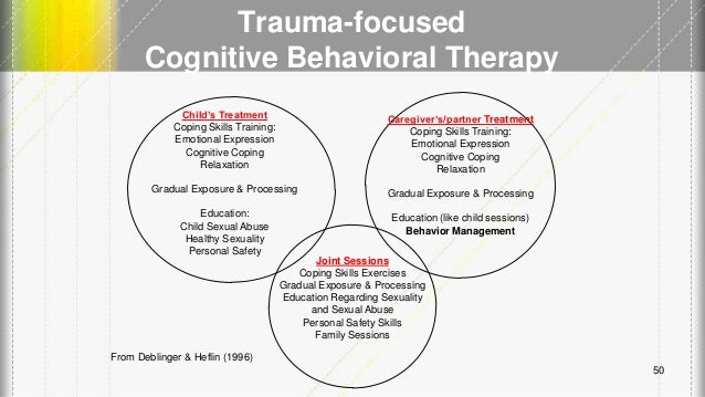 Trauma focused cognitive behavioral therapy with children