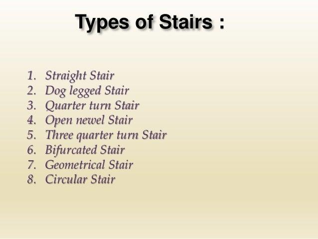 Circular Stair; 6.