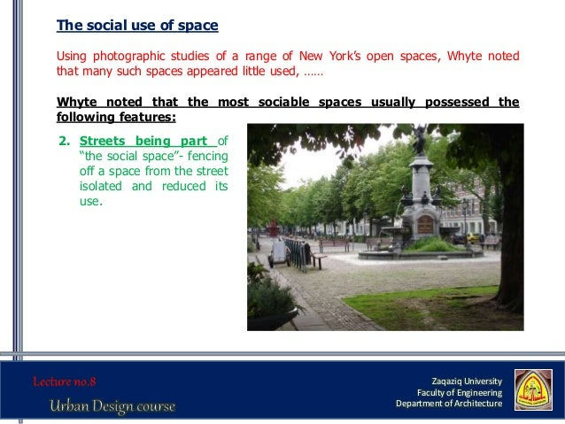 Urban Design Functional Dimension