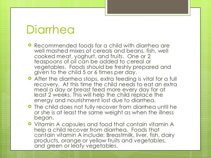 Lecture 8 diarrhea for Diarrhea after eating fish