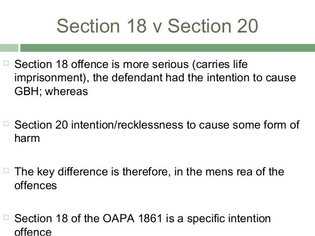 non fatal offences against the person essay Specification and past exam papers how to answer a scenario based on non-fatal offences against the person gbh, non-fatal offences, s18.