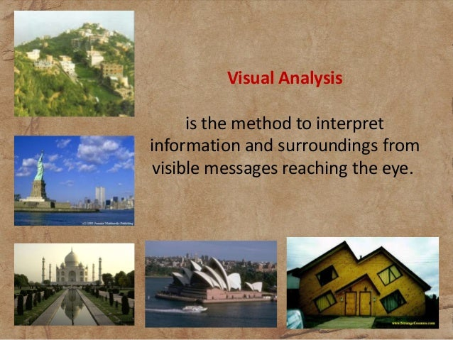 visual analysis Free essay: high renaissance visual analysis introduction generally believed to have begun in florence, the renaissance – also known as the 'rebirth' – was a.