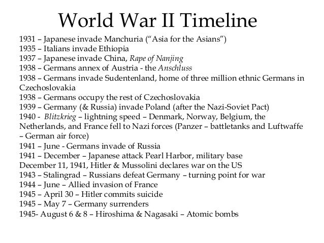 world war ii timeline Winston churchill born (significance: winston churchill was the most important british leader in wwii, holding the island nation strong against germany, cause: n/a, effect: churchill led britain in wwii as prime minister, links: young churchill: [1]) joseph stalin born (significance: joseph.
