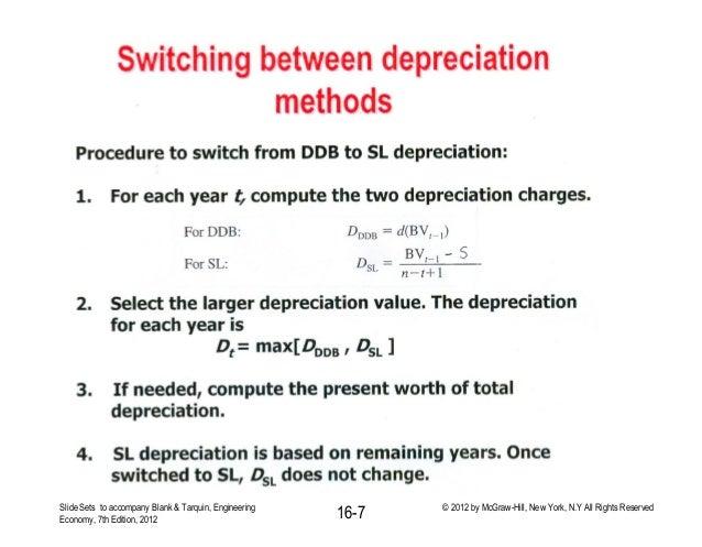 Lecture # 8 depreciation ii
