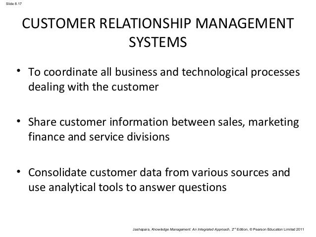 eight questions for customer knowledge management A social media supported customer knowledge management framework was  adapted as a  rowley j (2002) eight questions for customer knowledge.