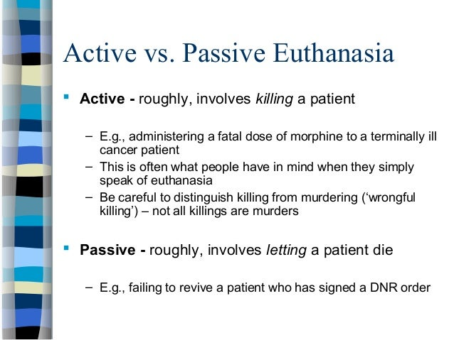 is euthanasia justified essay Is active euthanasia ever justified essays: over 180,000 is active euthanasia ever justified essays, is active euthanasia ever justified term papers, is active.