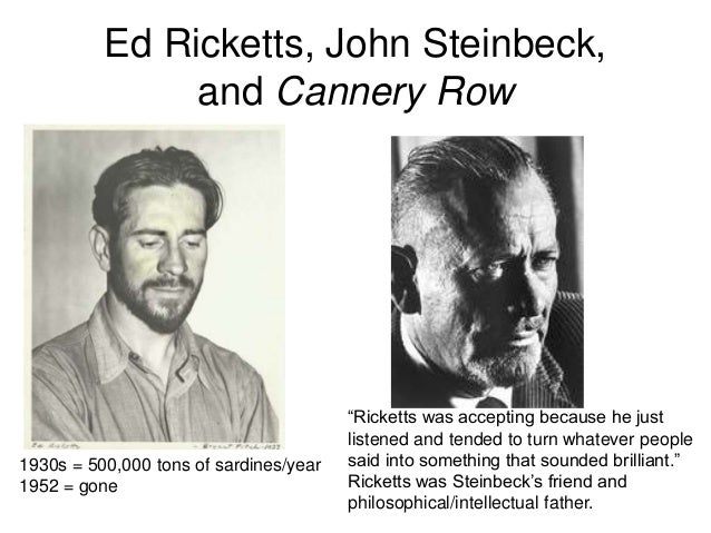 the importance of friendship in cannery row by john steinbeck Life in a local setting in john steinbeck's cannery row, the author shows local life in a regional setting in monterrey, californiahe brings the reader the regular people, not the wealthy or.