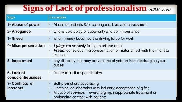 Lecture 8 Professionalism In Medicalpracticepart2 09032017
