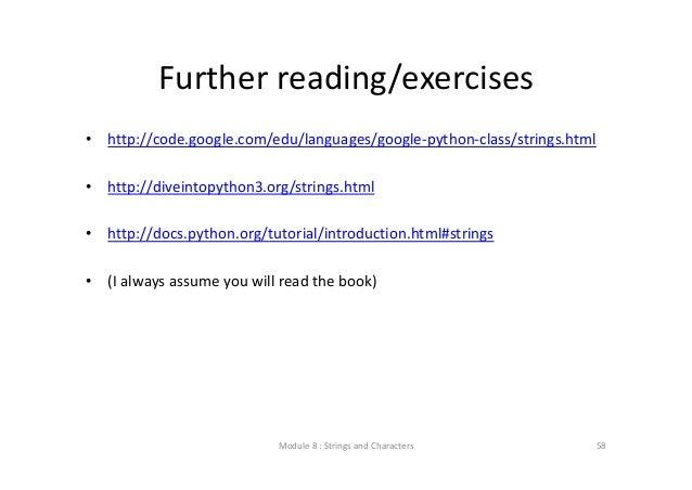 Google Python Class Exercises