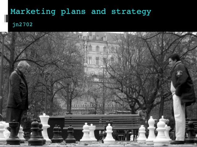 Marketing plans and strategy jn2702