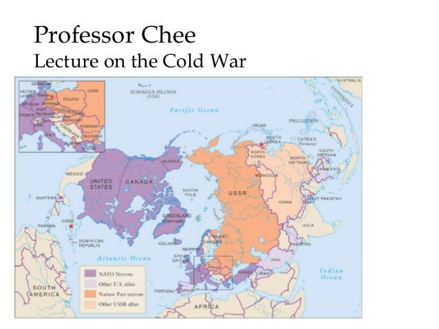 Professor Chee Lecture on the Cold War