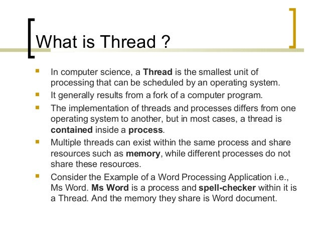 Threads And Synchronization in C# Slide 3