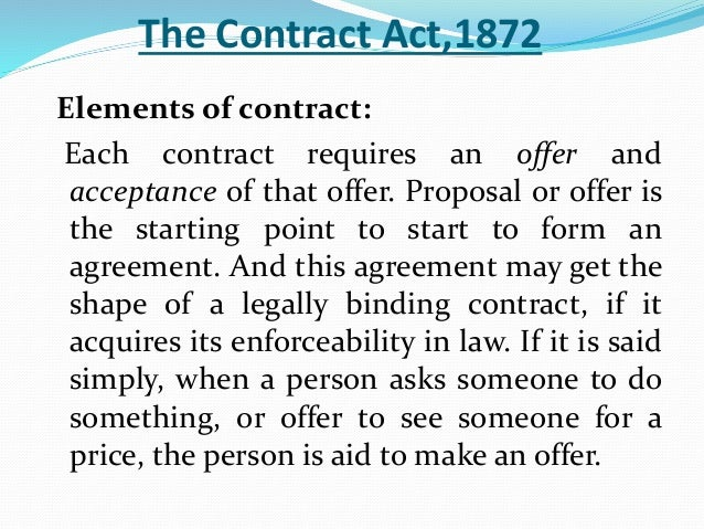 the law in relation to the formation of a contract in a given situation This module guide is designed to help you to study the contract law of england and wales this guide is not a textbook and it must not be taken as a substitute for reading the texts, cases, statutory materials and journals referred to in it the purpose of the guide is to take you through each topic in the syllabus for contract.