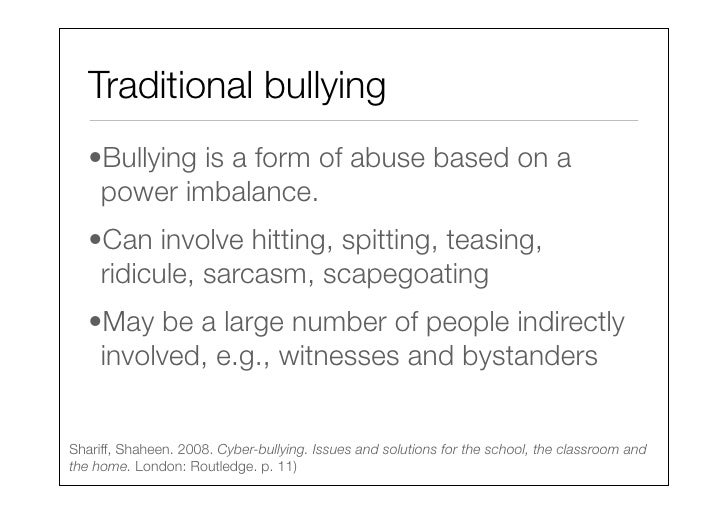 Lecture 9 Cyberbullying