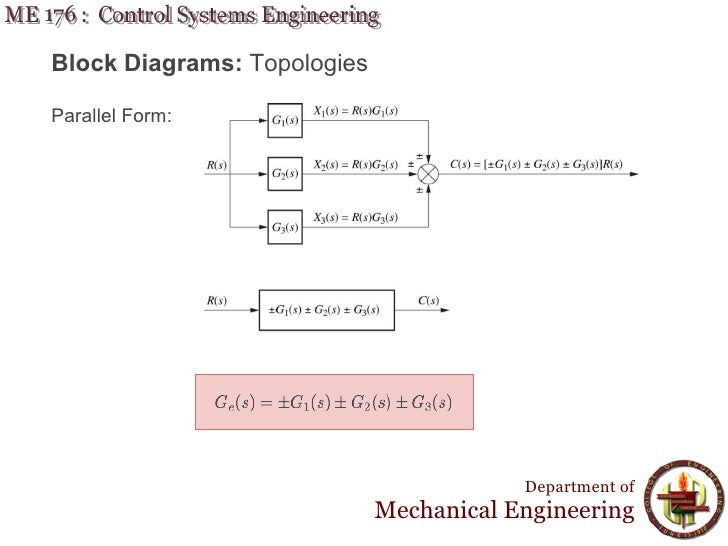 Lecture 9 me 176 reduction of multiple sub block diagrams ccuart Choice Image