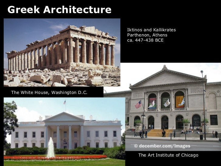 Modern Architecture Greek Influence lecture, ancient greece
