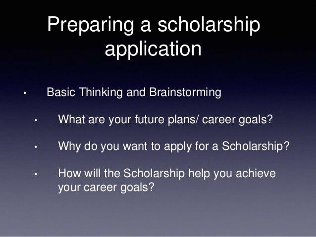 Sample Scholarship Essays