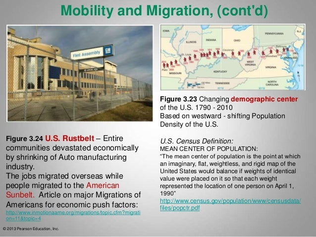 Lecture Ch - Changes in us employment international mapping pearson education inc