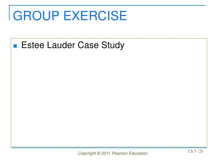 estee lauder 2011 case study Company profile the estee lauder companies inc the estee lauder the company recorded re venues of $8,810 million in the financial y ear ended june 2011.