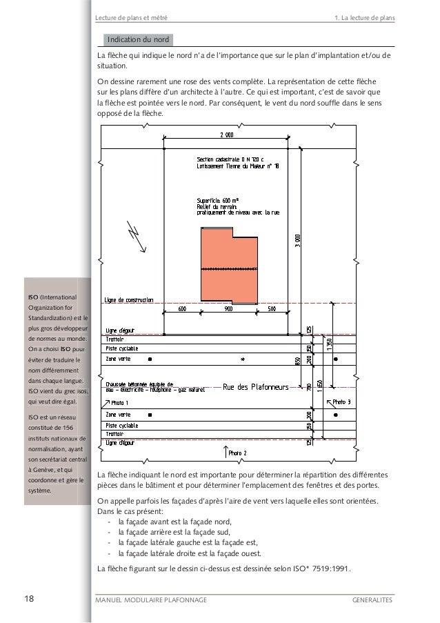 lecture de plans et m tr. Black Bedroom Furniture Sets. Home Design Ideas