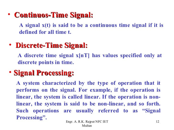 digital time signal processing Digital signal processing using  cengage learning reserves the right to remove additional content at any time if subsequent rights restrictions require it.