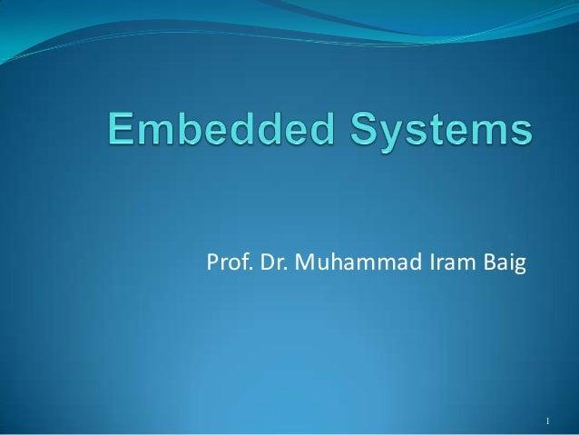 Prof. Dr. Muhammad Iram Baig  1