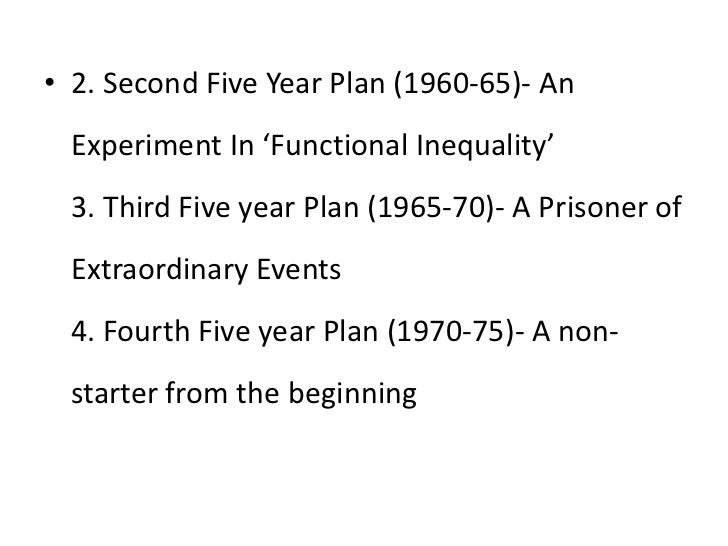 lecture five years plans <br > 3 2 second five year plan