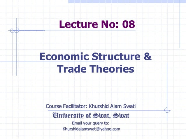 Lecture No: 08 Course Facilitator: Khurshid Alam Swati University of Swat, Swat Email your query to: Khurshidalamswati@yah...