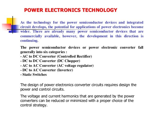 Lecture note macine & drives (power electronic converter)