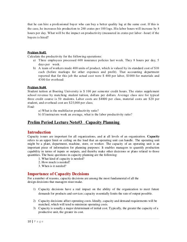 introduction to management lecture notes pdf