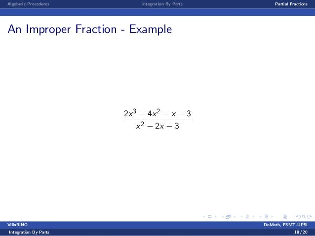 Benginning Calculus Lecture notes 15 - techniques of integration