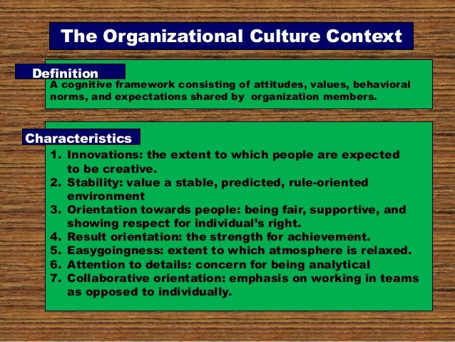Mahmood Qasim slides on organizational culture for organizational beh…