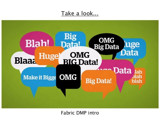 Take a look...  Fabric DMP intro