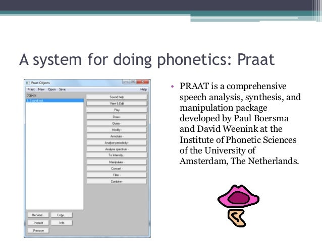 praat lpc resynthesis One of the types of objects in praat  sound: to lpc (covariance)  of the inner  ear articulatory synthesis), praat assumes that the amplitude is expressed in.