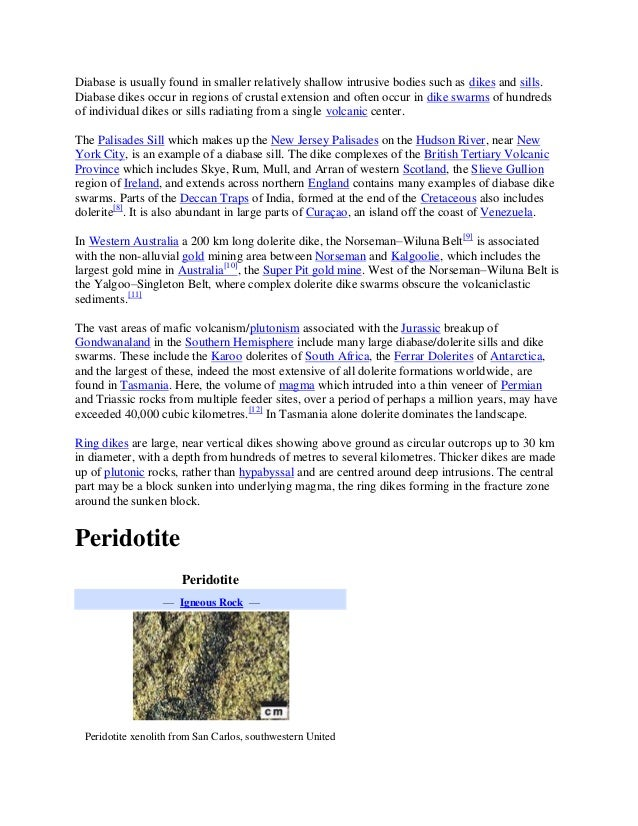 Diabase sills and radiometric dating