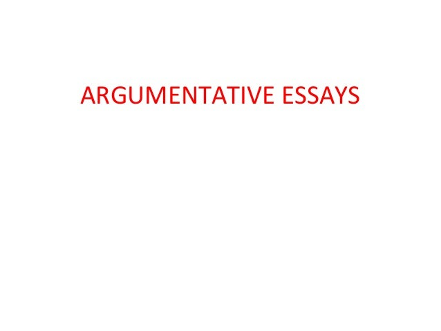 powerpoint on writing argumentative essay The purpose of argumentative writing is to convince the reader to agree with your   instead of a thesis statement, your argumentative essay will have a claim.