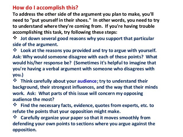 powerpoint on writing argumentative essay Worksheet/outline for analytical/argument essays 1 does my essay include an effective argumentative thesis writing checklist: essay, but which leaves the.