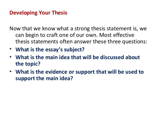lecture on writing argumentative essays ppt 5