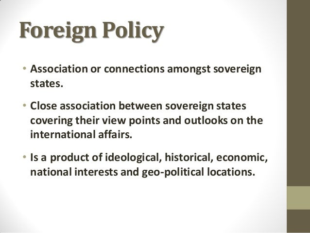 Pakistan Foreign Policy (Phase I & II) Slide 2