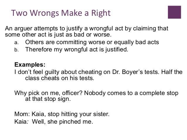 lecturer 4 fallacies